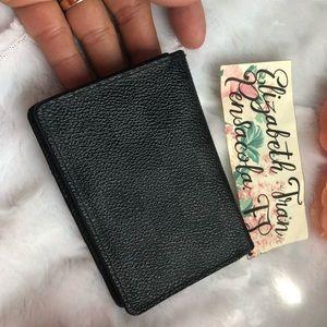 AUTH. Louis Vuitton Damier Graphite Card Case